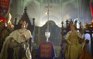 Richard, Duke of Gloucester (ANEURIN BARNARD), Anne Neville (FAYE MARSAY)