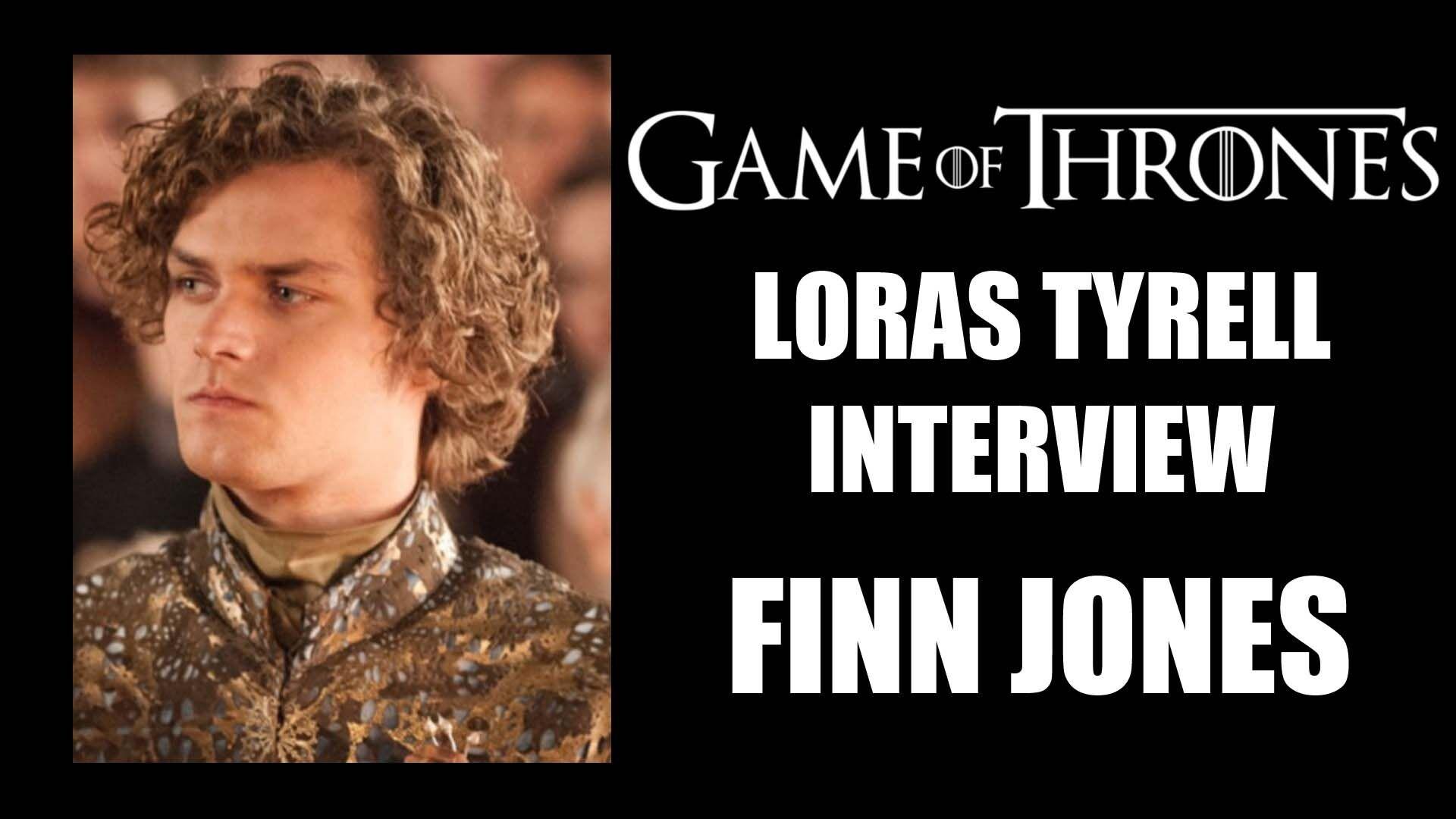 Game of Thrones Loras Tyrell - Finn Jones