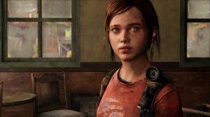 Ellie in The Last of Us