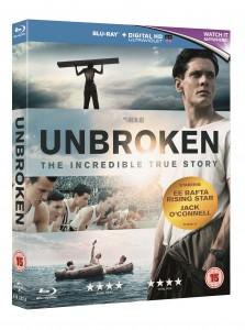 Unbroken Blu-ray 3D packshot
